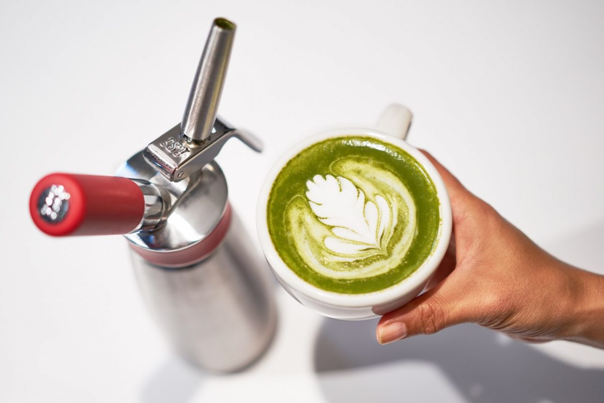 Macha-latte recipe